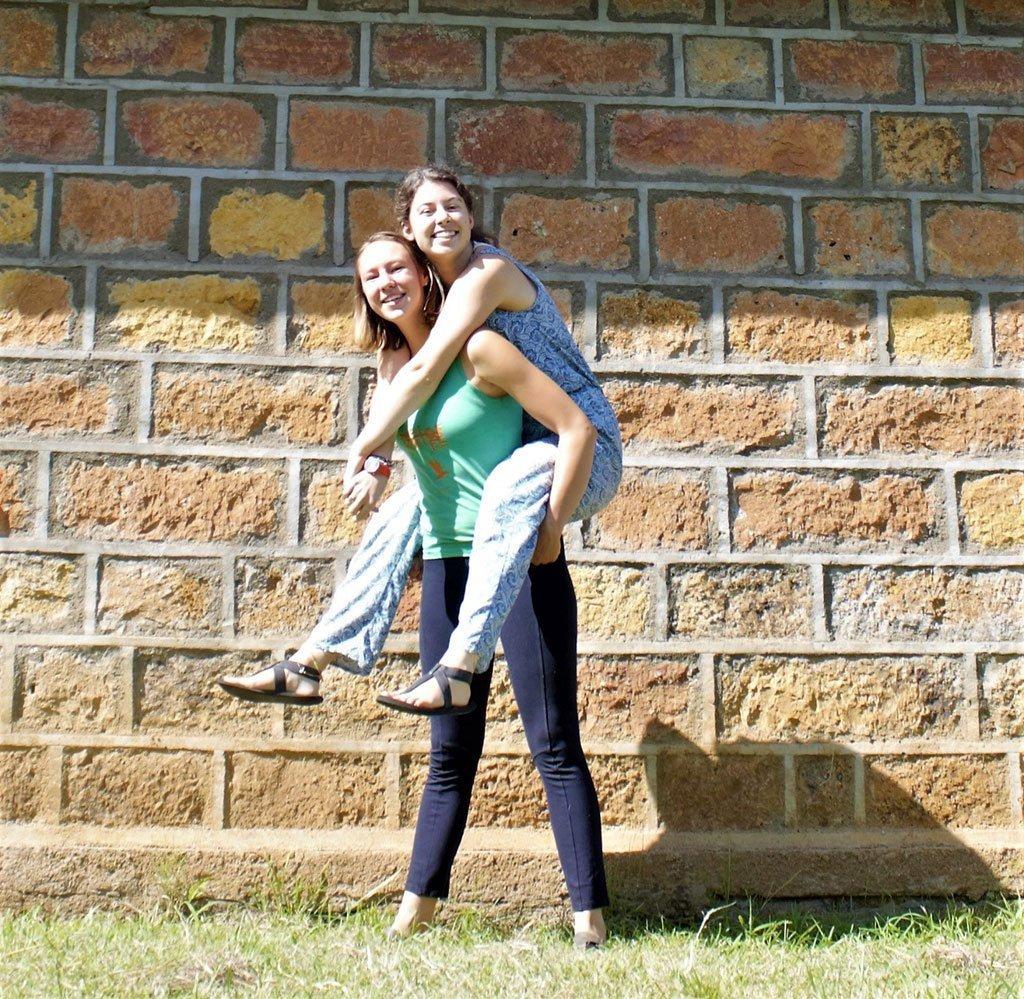 Kirianne and Celena in Kenya photo 7