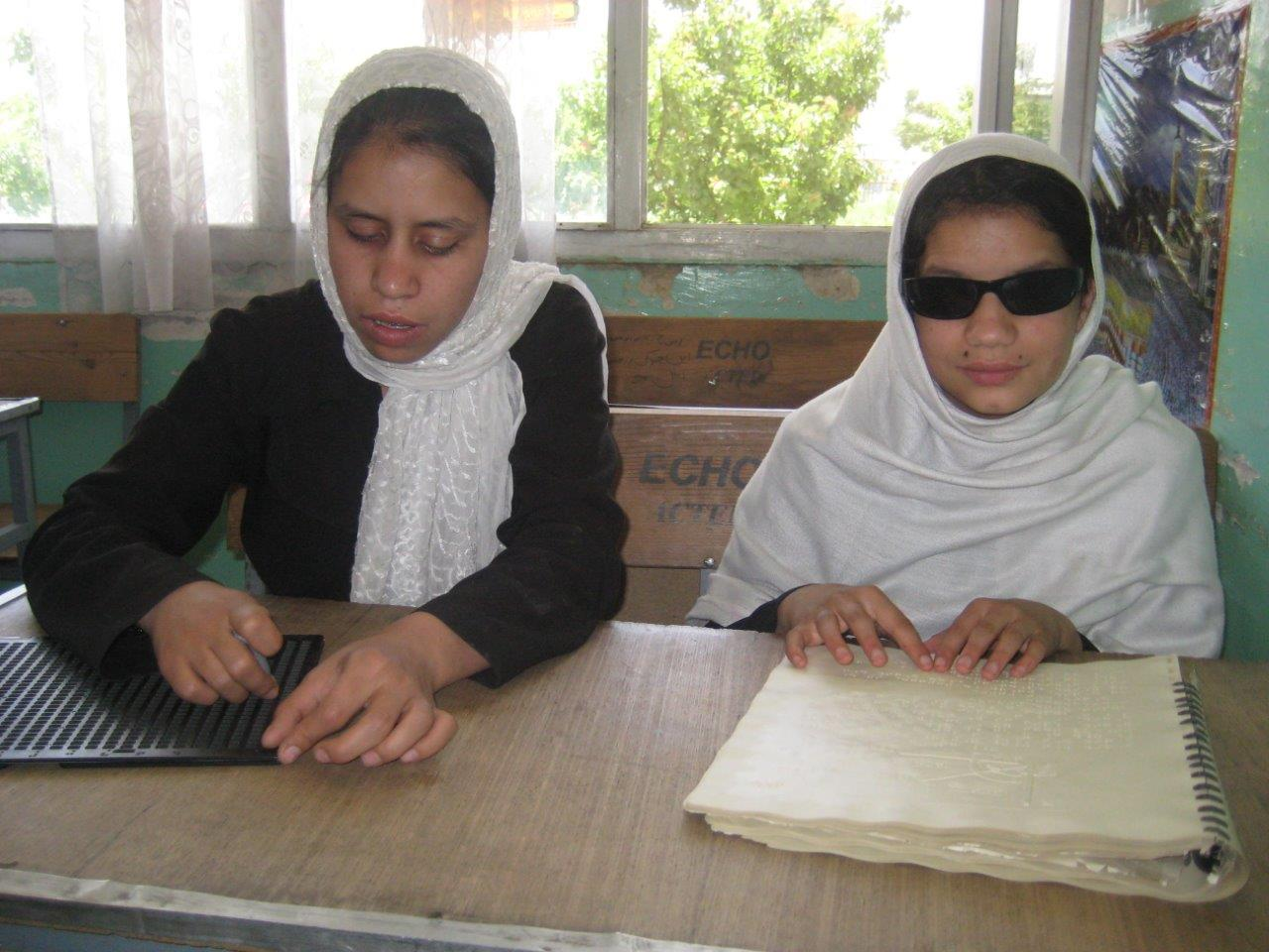 100 Classrooms Project: Kabul Blind School – All Blind Children Tested