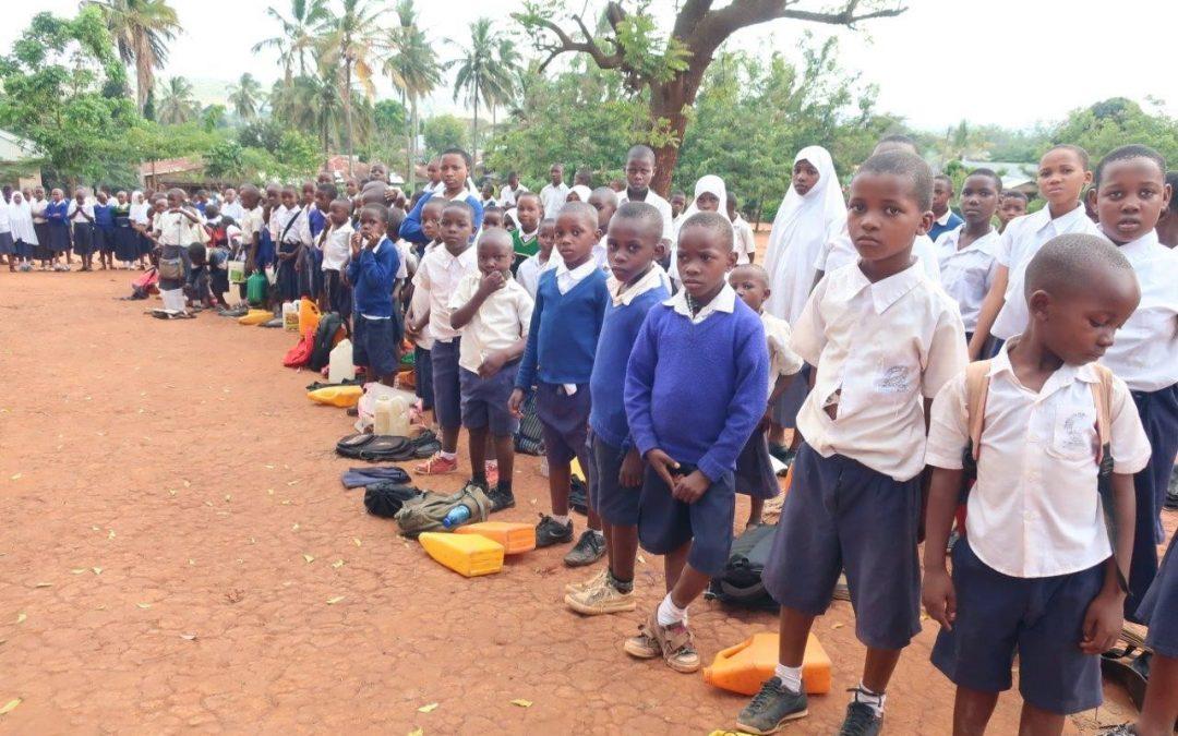 TANZANIA: MOMBO: MAJENGO PRIMARY SCHOOL