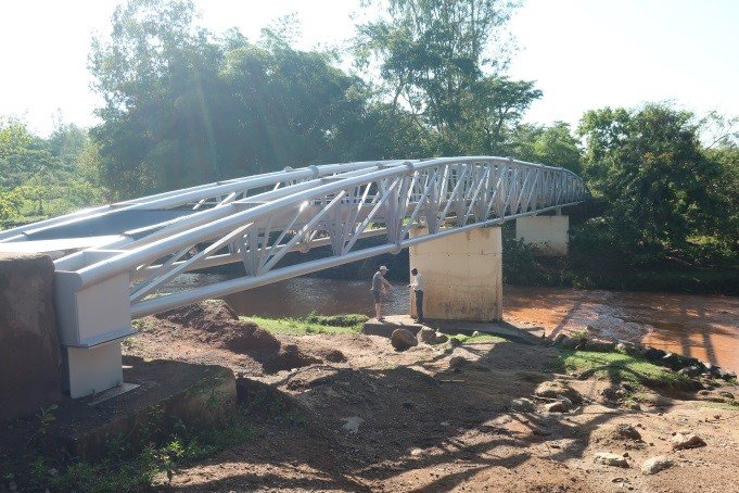 NYABURI INTEGRATED SCHOOL – 2015 NYANGAJO BRIDGE REPAIRS