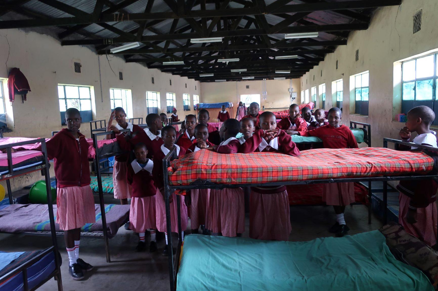 KENYA: MASSAI MARA: NAIKARA PRIMARY SCHOOL