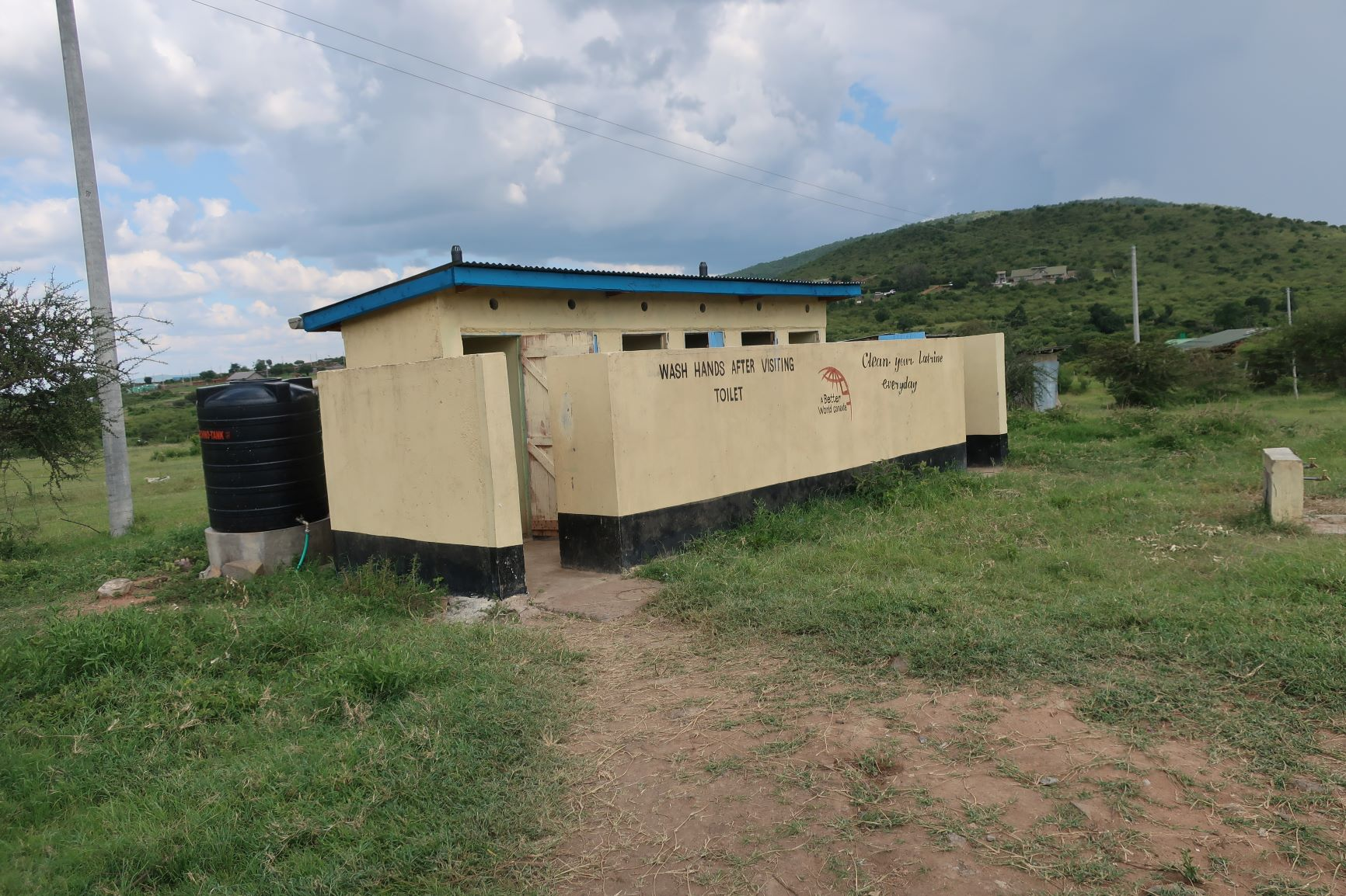 SEKENANI PRIMARY SCHOOL – 6 Boys, 6 Girls, and 6 Teachers Toilets