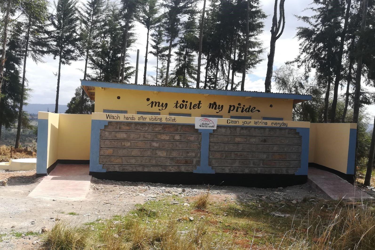 SIMOTWET PRIMARY SCHOOL – 12 Toilets