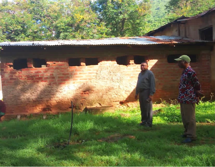 MAZINDE NGUA PRIMARY SCHOOL – 16 Toilets
