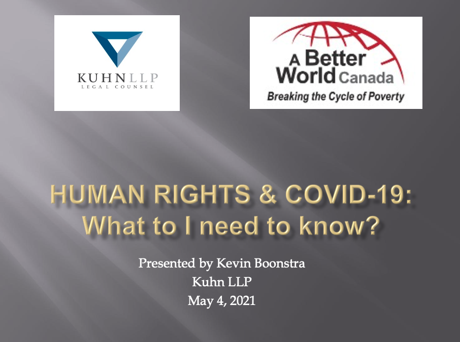 Human Rights and Freedoms Presentation Slides